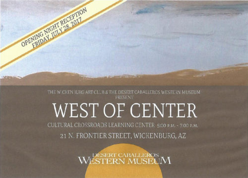 2017 West of Center – Time To Get Ready